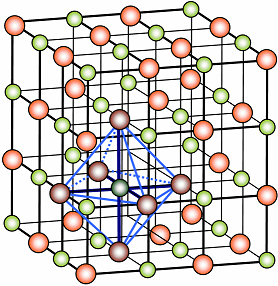 the atomic structure of table salt