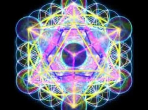 metatron cube neon